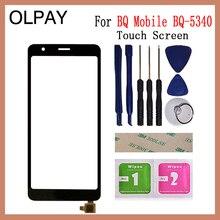 5.34 pouces écran tactile pour BQ Mobile BQ 5340 BQ 5340 écran tactile numériseur panneau avant verre lentille capteur réparation et outils