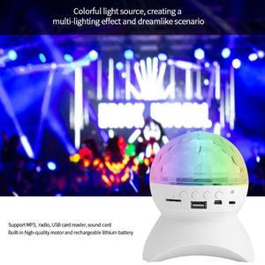 Image 4 - Led disko ışığı sahne ışığı müzik sahne ışığı u disk hafıza kartı Bluetooth hoparlör bağlantı DJ parti Bar noel cadılar bayramı dekor
