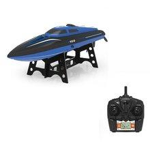 2,4 г пульт дистанционного управления высокоскоростная лодка конкурентоспособная модель корабля детская водная электрическая игрушка