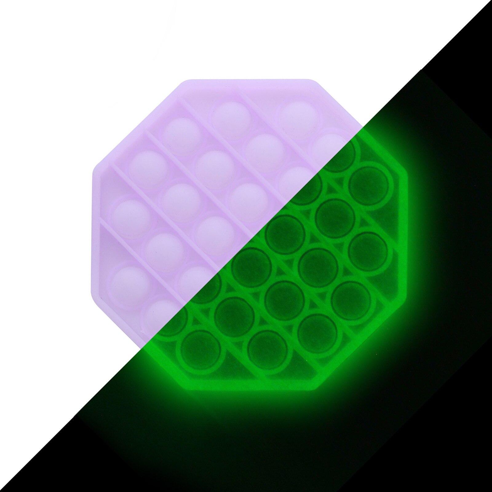 It-Toys Bubble-It-Fidget Popit Luminous-Pop Silicone Toy Stress-Game Figet Kids for Autism img2