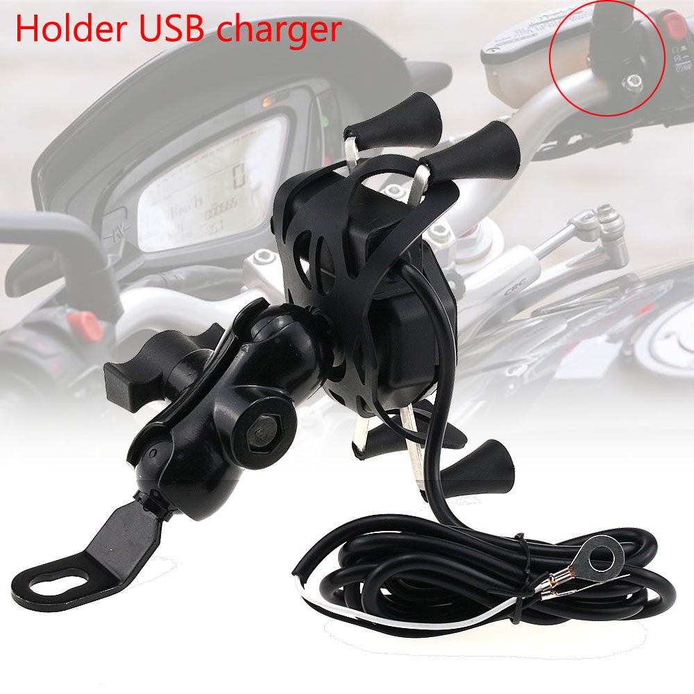 Phone Holder <font><b>for</b></font> <font><b>HONDA</b></font> <font><b>CBR</b></font> 600RR CBR600RR 2007-2017 Motorcycle Accessories <font><b>GPS</b></font> Navigation Bracket 13mm image