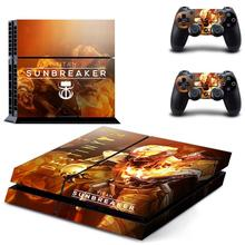 Destiny 2 PS 4 Sticker Play station 4 Stickers PS4 Skin Decal Pegatinas Adesivo For PlayStation 4 console and controller