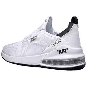 Image 1 - זוג מקרית ספורט נעלי 2018 סתיו והחורף חדש גברים של כרית אוויר ריצה נעלי גברים ונשים מזדמנים לבן נעלי סניקרס