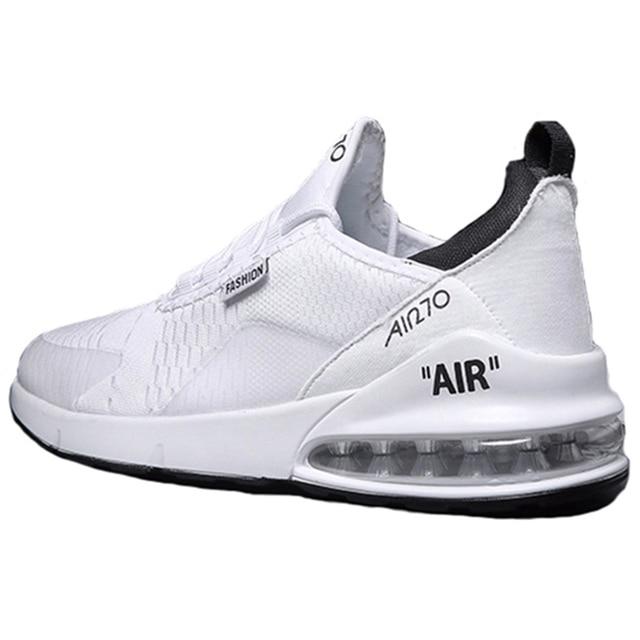 זוג מקרית ספורט נעלי 2018 סתיו והחורף חדש גברים של כרית אוויר ריצה נעלי גברים ונשים מזדמנים לבן נעלי סניקרס