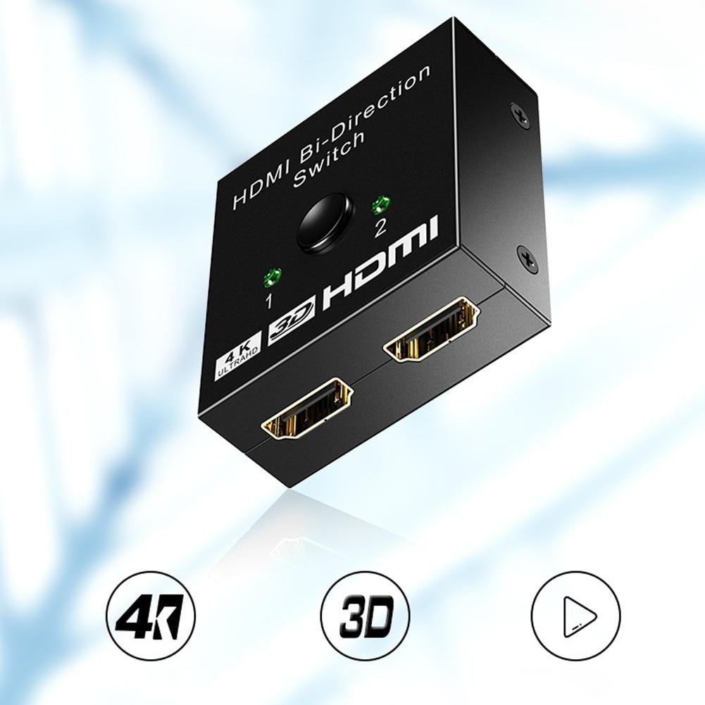 HDMI HDTV Switch Switcher Splitter Bi-Direction Hub Switch Support 4K High-definition NC99