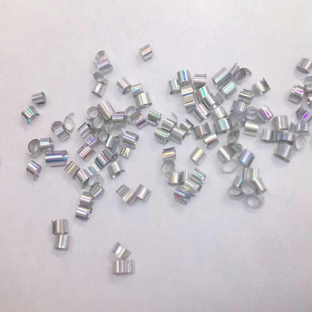 10g 2x3mm פלסטיק גמיש צנרת/קטן רך צינור חרוזים/רול DIY ידני חומר Slym קריסטל בוץ מילוי אביזרים