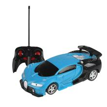 MoFun 1/18 Transform Deformed rc Car Deformation Robot Toys with Light Demo Remote Control Car Model Vehicle for Children Gift(China)