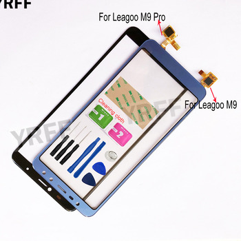 M9 Phone Touch Screen For Leagoo M9 Pro Touch Screen Digitizer Touch Panel Repair Front Glass Lens Sensor 5 new touch screen for huawei g610 c8815 digitizer front glass lens sensor panel replacement repair
