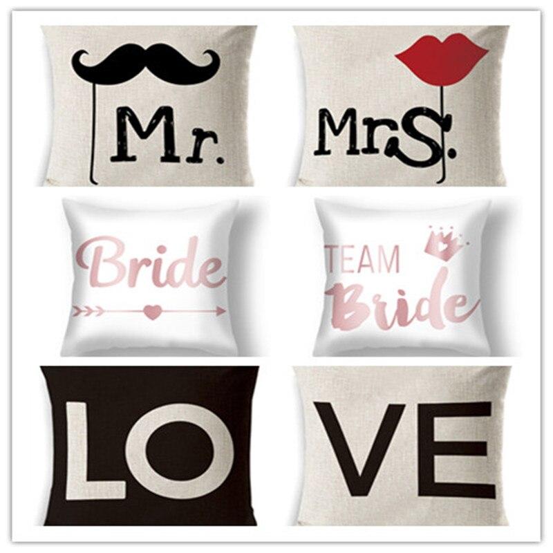 Mr /& Mrs Pillow Eyelash Pillow Handmade Eyelashes Mustache Pillow Sequin Eyeshadow Pillow Make up Pillow wedding decor