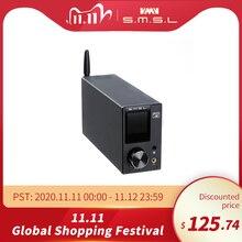 SMSL AD18 مرحبا فاي الصوت مكبر صوت استيريو مع بلوتوث 4.2 يدعم Apt X ، USB DSP كامل الرقمية مكبر كهربائي 2.1 لسماعة