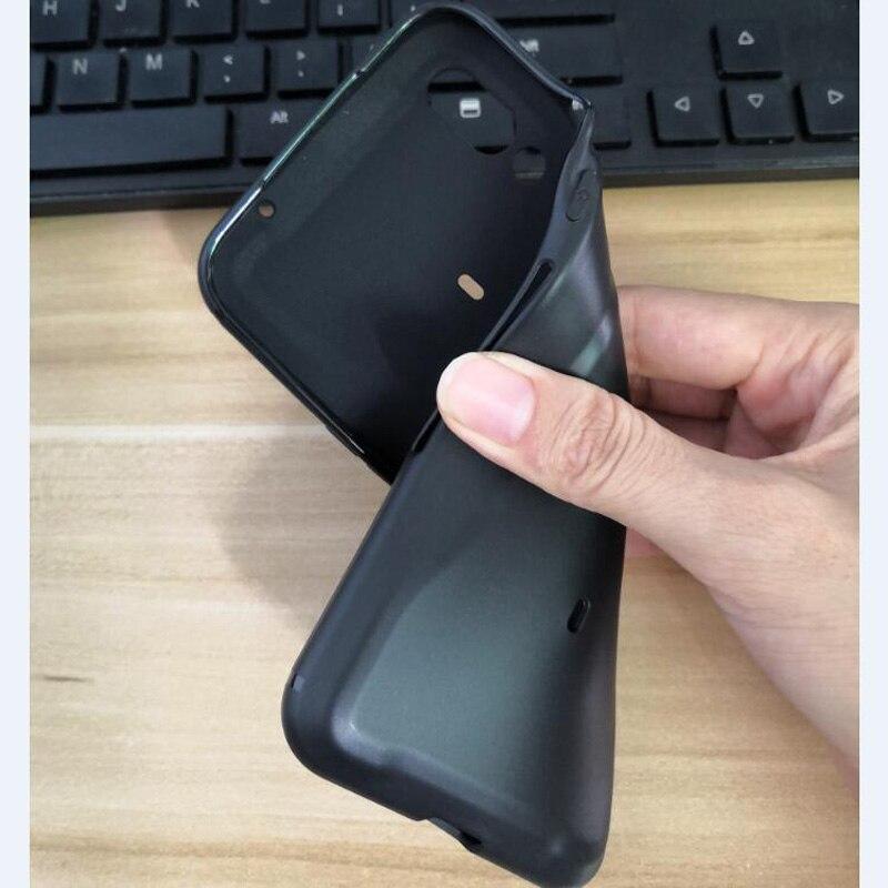 For xiaomi Black Shark 2 Pro Case BlackShark 2 pro SKW-A0 Case black color Soft TPU Shockproof gaming phone Back Cover shell