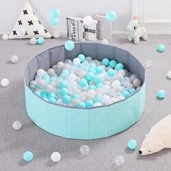 Caneta infantil dobrável seca, bola para piscina, brinquedos para crianças, presente de aniversário
