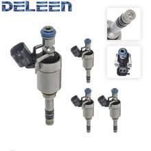 Injetor de combustível de alta impedância deleen 4x 0261500106 / 12627093 gdi para chevrolet acessórios do carro