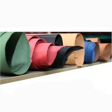 Женская сумка 2 мм из натуральной кожи растительного дубления, ручная работа, вырезка из воловьей кожи, 7 цветов на выбор