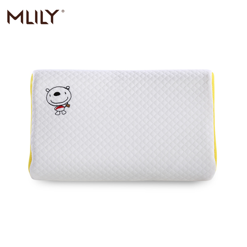 Mlily Memory Foam Pillow Orthopedic Cervical Anti Mite Child Neck Pillow For Baby Sleeping