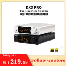 Topping DX3 Pro Ldac Editie Bluetooth Decodering Amp AK4493 Usb Dac Xmos XU208 DSD512 Harde Oplossing Hoofdtelefoon Uitgang TPA6120A2(China)