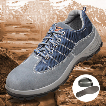 Men Sneakers Outdoor mal Breathable Protective shoes safety sprot sneakers JA9122604