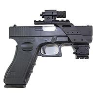 Tático Vista pista Pistola Beretta Airsoft Picatinny Rail Para Glock 17 19 M92 Base Universal Quad Red Light Laser Scope Mount|Lunetas Riflescopes| |  -