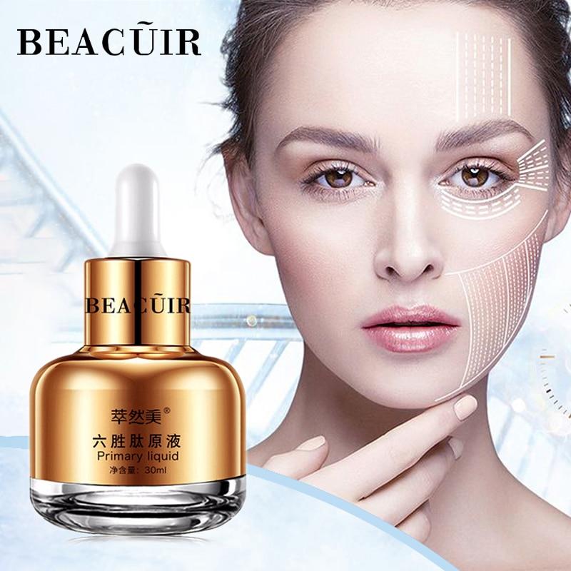 BEACUIR Collage Argireline Anti-Aging Wrinkles Essence Liquid Hyaluronic Acid Shrink Pores Serum Whitening Moisturizing Cream