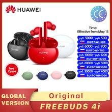 Version globale Huawei FreeBuds 4i 4 je Casque Sans Fil Actif Bruit Appel Réduction Bluetooth 5.2 Écouteurs Chauds en Russie