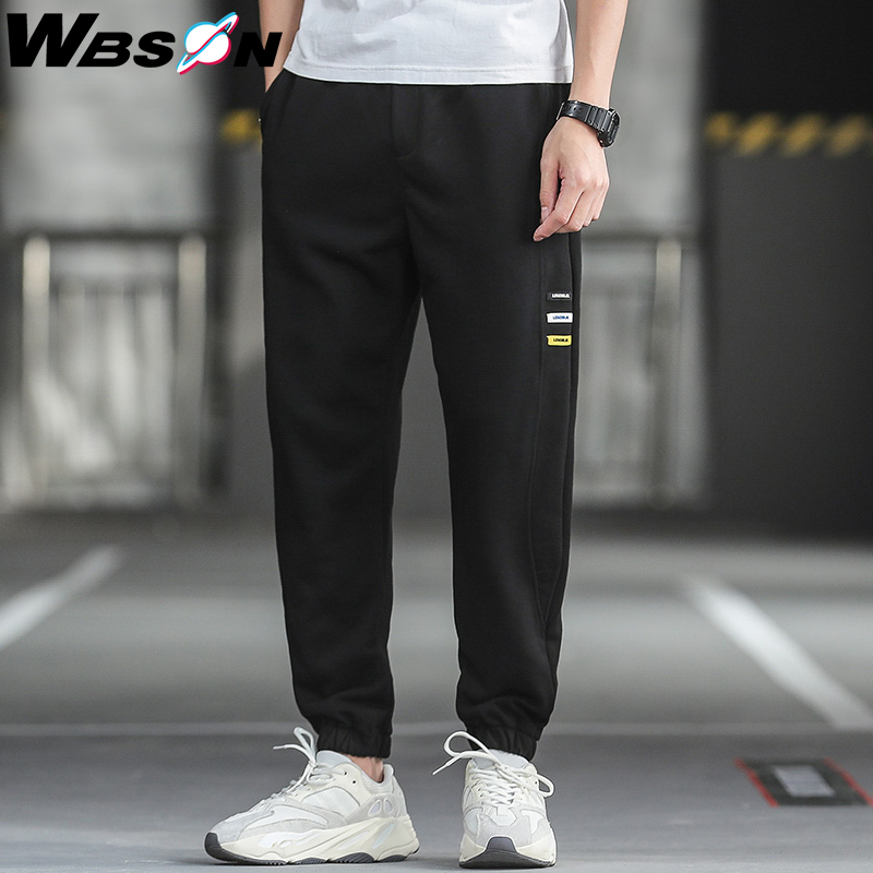 Wbson 2020 New Men's Casual Pants High Quality Pants Street Pants Sport Pants Harem Trousers Male Fashion Brand Pants ZX0510