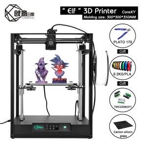 Image 3 - Creatività ELF Kit stampante 3D grandi dimensioni 300*300*350mm CoreXY stampante 3D FDM fai da te ad alta precisione Core XY doppio asse Z