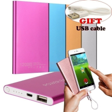 Multifunction Usb Charging Treasure 2019 Ultrathin 12000mAh Portable USB External Battery Charger