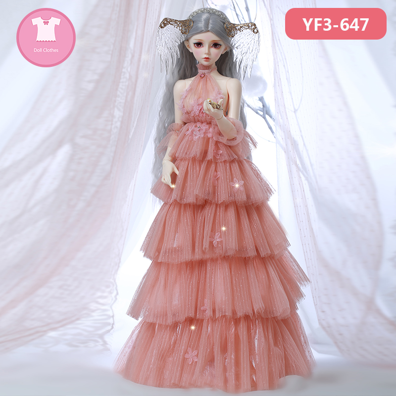 BJD Clothes Fairyland Feeple60/65 Moe Lunnula Chloe 1/3 BJD SD Dress Beautiful Doll Clothes Accessories OUENEIFS 1