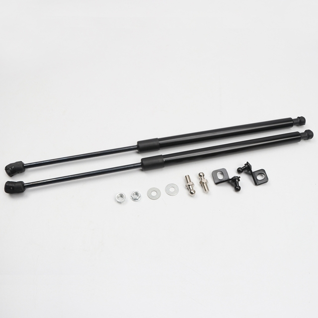 Car Styling 2PCS Hood Cover Hydraulic Rod Strut Rod Telescopic Rod Engine Cover Support for Hyundai Kona 2017-2019 3
