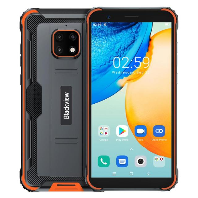 Blackview BV4900 Pro 5580mAh IP68 Waterproof Rugged Smartphone 5.7'' 4GB 64GB Android 10.0 Octa Core Mobile Phone NFC 5
