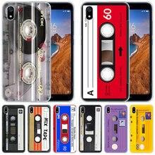Funda de silicona de lujo casete clásico antiguo para Xiaomi Redmi K20 Pro 7 7A 6 6A 4X5 Plus S2 ir Nota 8 7 6 5 4 Pro de moda