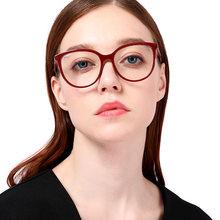 Wacksaria очки Женские Модные прозрачные круглые овальные плоские