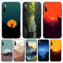 3D Emboss Mountain Phone Case For Samsung S Note20 10 2020 S5 21 30 ultra plus A81 Cover Fundas Coque