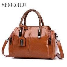 купить New Bags for Women 2019 New Fashion PU Leather Handbags Crossbody Bag for Women Quality Vintage Shoulder Bag Ladies Handbag по цене 1248.57 рублей