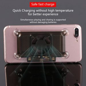 Image 5 - Universal Mobilephone Cooler Cooling Support Holder Fan Radiator For iPhone X Samsung Huawei Xiaomi Smartphone Tablet