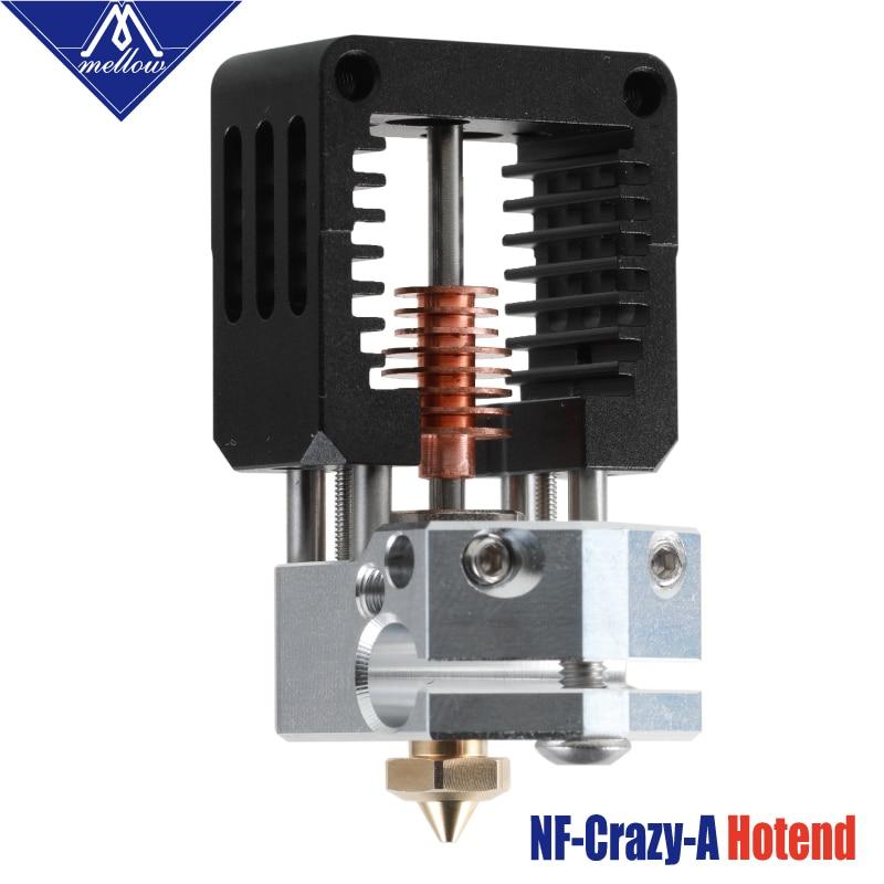 Mellow All Metal NF-Crazy-A Hotend V6 Nozzle For Ender 3 CR10 Prusa I3 MK3S Alfawise Bmg Extruder 3D