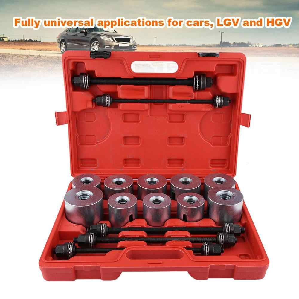 Oversea Car Bush Bearing Removal Insertion Tools Set Press Pull Sleeve Kit Universal Carbon Steel Bearing Tools Brand New
