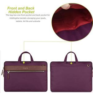 Image 2 - Laptop Bag 13.3 Inch For Macbook Pro 13 Bag Women Laptop Sleeve For Macbook Air 11/13 Notebook Bag with Removable Shoulder Strap