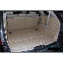 lsrtw2017 for hyundai veracruz leather car trunk mat cargo liner 2006 2007 2008 2009 2011 2012 2013 2014 2015 ix55 luggage rug