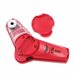 Image 2 - Di trasporto di alta Qality Nuovo Trapano Compagno Cordless Collettore di Polveri Con Laser a Livello di Bolla Fiala FAI DA TE Strumento Laser a Livello di Collettore
