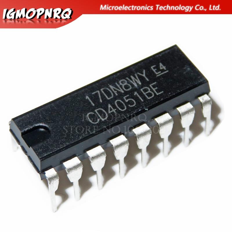 20 PCS CD4051BM SOP-16 CD4051 SMD CMOS Analog Multiplexers  NEW AND ORIGINAL