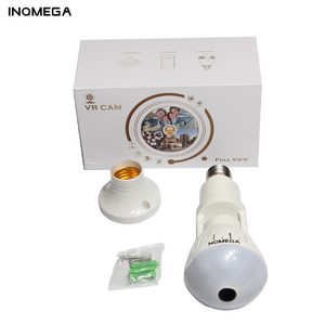 Image 5 - INQMEGA 1080P 360 Degree HD Panoramic Wifi IP Camera Light Bulb Home Security Video VR Camera V380 Wireless WiFi Kamera Indoor
