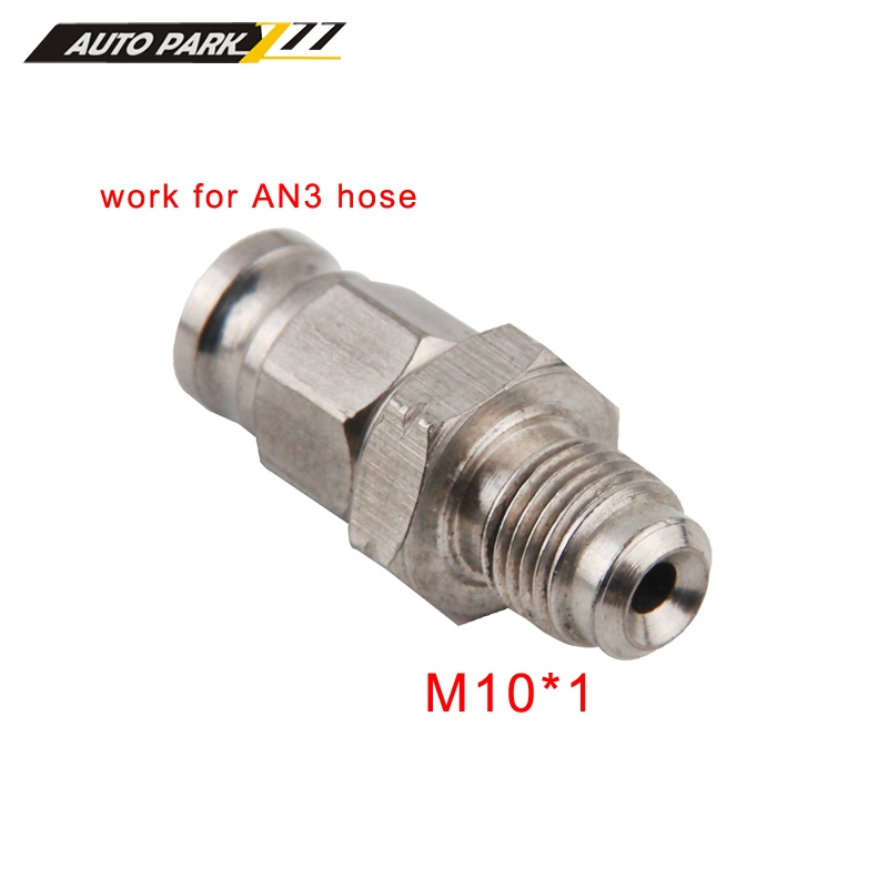 Mangueira de óleo de freio hidráulico para moto an3, conexão banjo m10x1 em aço inoxidável 10mm-1