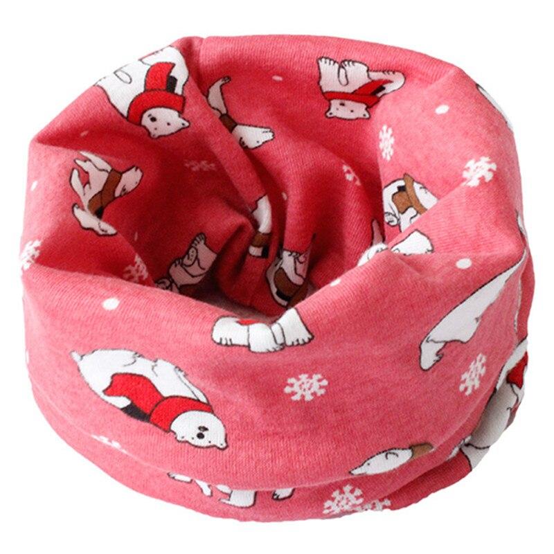 Весенне-осенне-зимний детский хлопковый шарф для От 0 до 10 лет, Детские шарфы с героями мультфильмов, модный теплый воротник - Цвет: 48