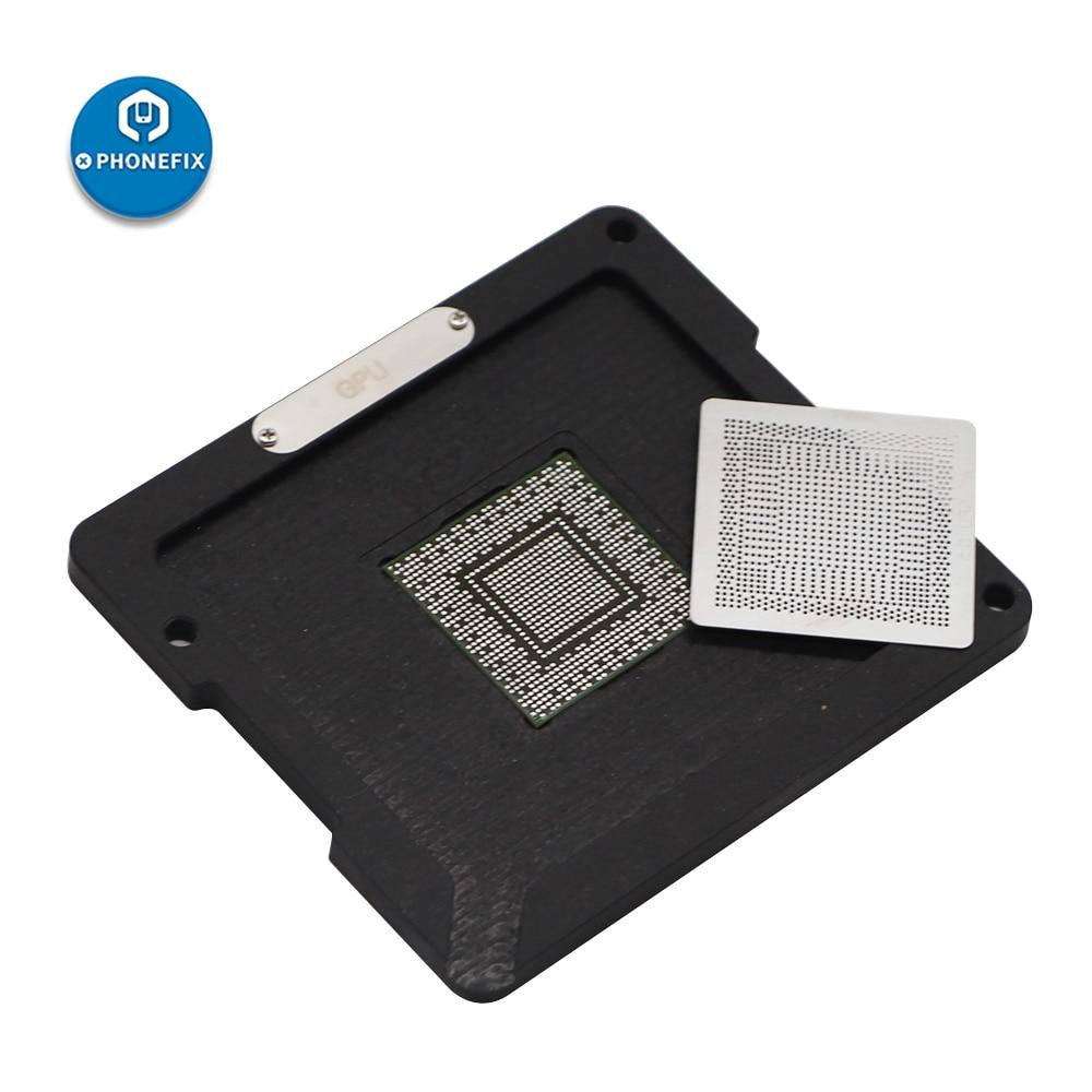 Tools : DS-908 BGA Reballing Platform Set for Macbook Air  Pro BGA Chips Soldering Tool Kit for Macbook 2010-2018 BGA Reballing Stencil