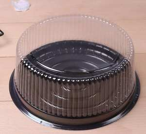 Plastic Cake-Holder 100pcs Big Round Cheese-Box/clear Wholesale