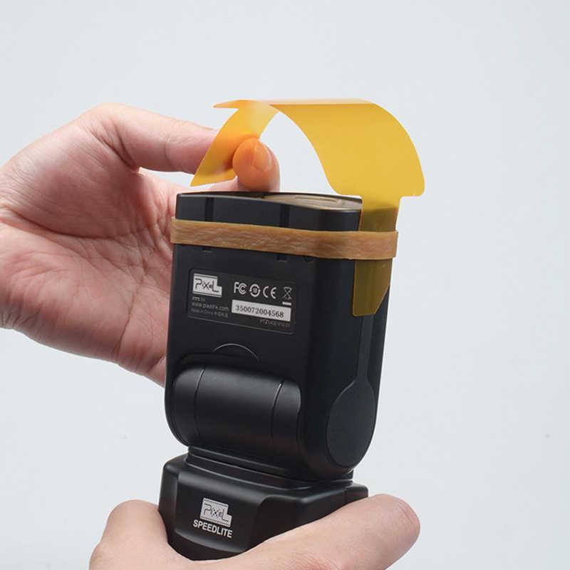 20 Cái/bộ 4X6 Cm Đèn Flash Gel Bộ Lọc Dành Cho Máy Ảnh Canon Nikon Sony Yongnuo DSLR Camera