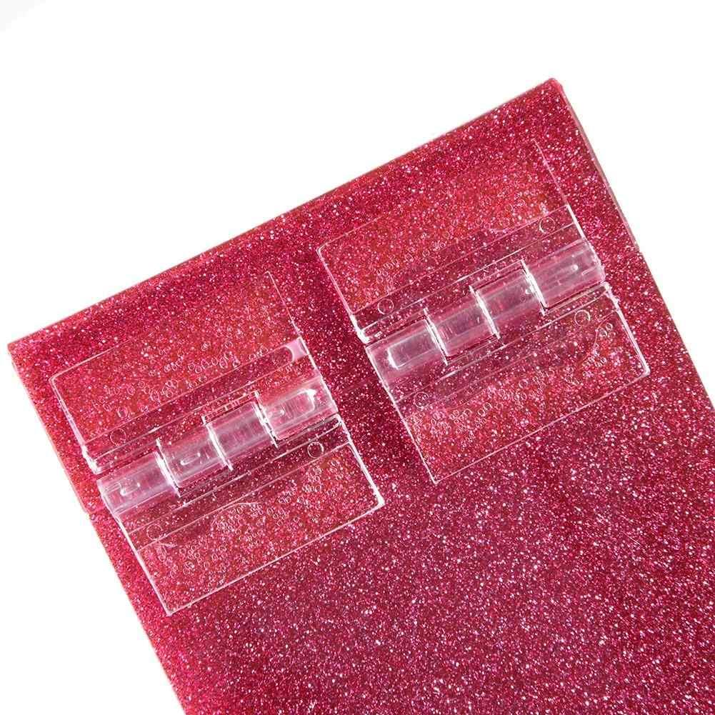 5 طبقات واضحة البلاستيك ماكياج المنظم رمش صندوق تخزين الرموش الصناعية الغراء البليت أصحاب تطعيم الرموش تخزين أداة