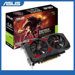 Image 1 - Asus CERBERUS GTX 1050Ti A4G Mainstream level Desktop Graphics Cards GDDR5 Boost 1417MHz PCI Express 3.0 GeForce GTX 1050Ti 4G