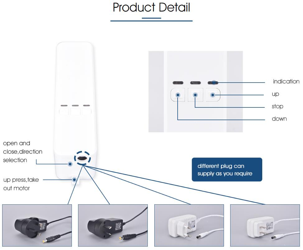 H9192a667c29145268cea7a30ea1112964 - NEW Smart Motorized Chain Roller Blinds Automation Kit Control with Remote and MOBILE Control Via Alexa/Google/Wifi